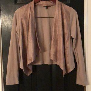 Dual textured jacket by Giuliana